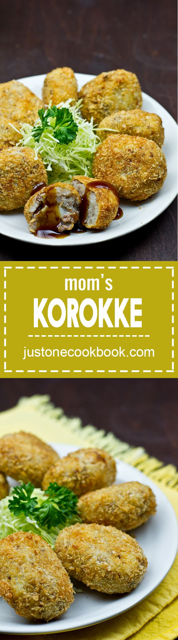 Mom's Korokke (Croquette) コロッケ | Easy Japanese Recipes at JustOneCookbook.com