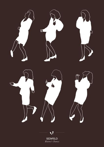 Seinfeld ~ Elaine's dance was the funniest episode I ever saw!  Still makes me laugh just thinking about it. Hahahahaha