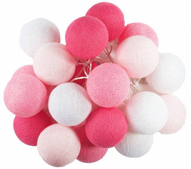 Een zoete suiker-roze lichtslinger voor het allerliefste prinsesje , groot of klein, dat zal zeker een succes zijn.