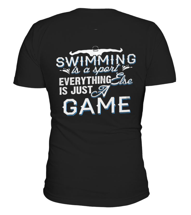 Shirt Swimming May Not Be A Religion back  Funny Religion T-shirt, Best Religion T-shirt