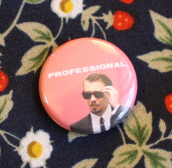 "Mr. Pink Reservoir Dogs 1"" Button Pinback Professional Steve Buscemi on Etsy, $2.00"