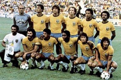 Brasil en España 1982, este ha sido a mi gusto uno de los mas grandes seleccionados brasileños de la historia, pero....tenia un portero pesimo en Waldir Peres y un delantero centro atroz en Serginho, los errores de ambos ante Italia terminaron por eliminarlos....como los llevo Tele Santana?
