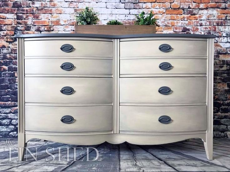 Custom Mixed Neutral Dresser | General Finishes Design Center