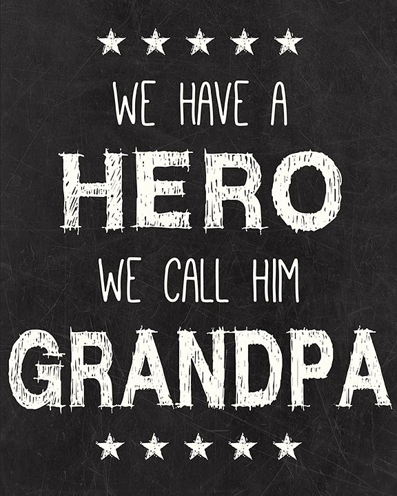 Thank you Rodney for being the BEST GRANDPA......  And Thank you Grandpa GEORGE for being starting the chain...  Love you both.