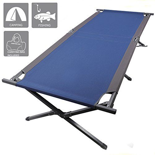 PORTAL 83 XL Heavy Duty Folding Portable Camping Cot - Steel Frame #cots #camping #outdoors #outdoorequipment