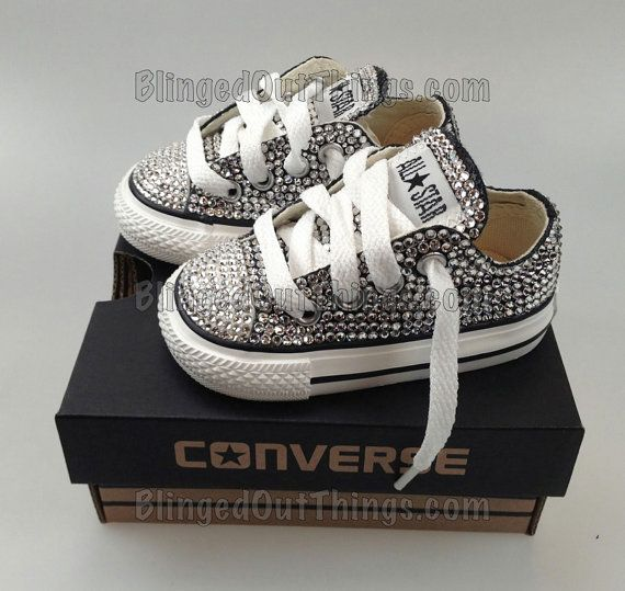 So cute!! Bling Chucks! My little girl will definitely have a pair of these for sure!