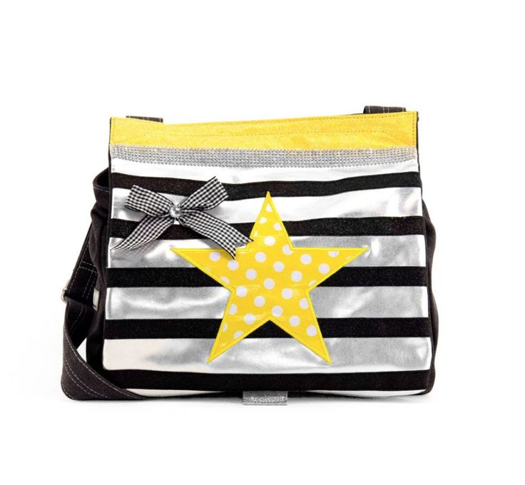 Zebra trends Zebra Trends Tas Yellow Star