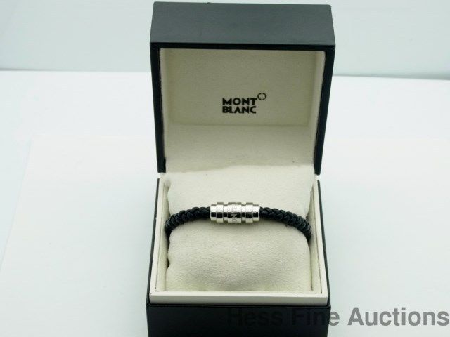 how to open mont blanc bracelet