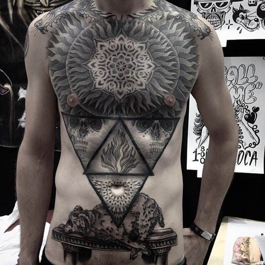 576 Best Images About Chest Tattoos On Pinterest