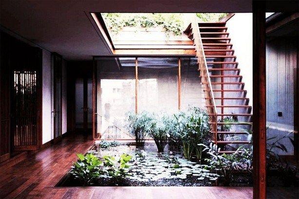 16 Relaxing Courtyard House Design Ideas Fresh Home Ideas Courtyard House Small House Exteriors Facade House