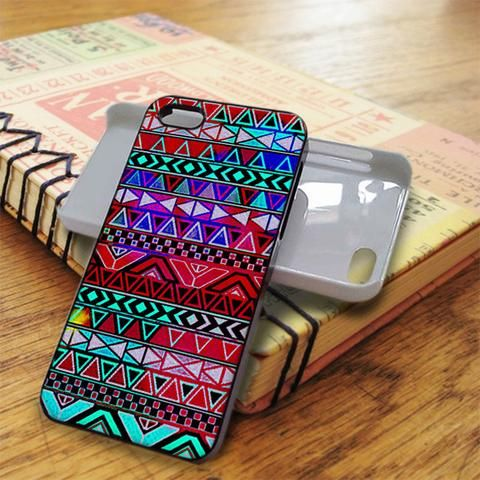 Geometric Aztec Triangel iPhone 5C Case