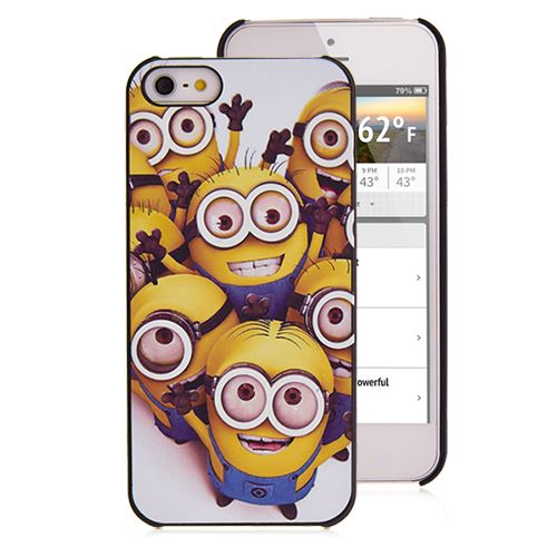 Funny Minions iPhone Case Despicable Me iPhone 5 Cover Case #minions #despicableme #funnycase #iphone #cellz #iphone5case
