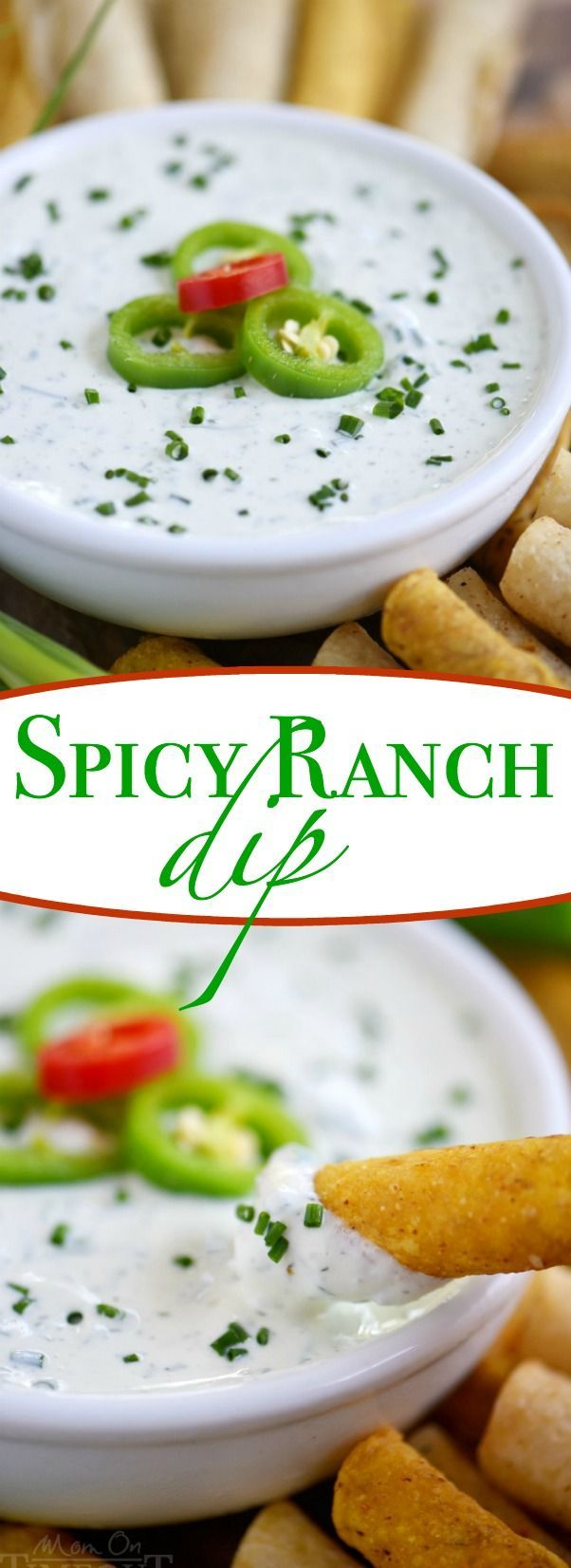 This easy Spicy Ranch Dip is made with Greek yogurt and lots of fresh…