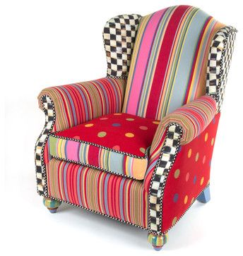 Wee Wing Chair | MacKenzie-Childs - eclectic - kids chairs - other metro - MacKenzie-Childs