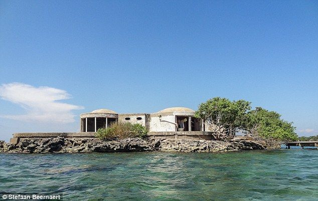 Dotted in the crystal clear waters of the Caribbean are the island homes of Colombian drug lords such as Pablo Escobar