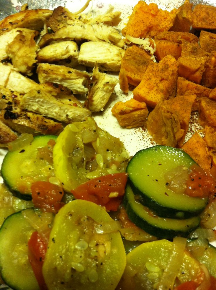 Pork, Sweet Potato & Apple Saute Recipe — Dishmaps