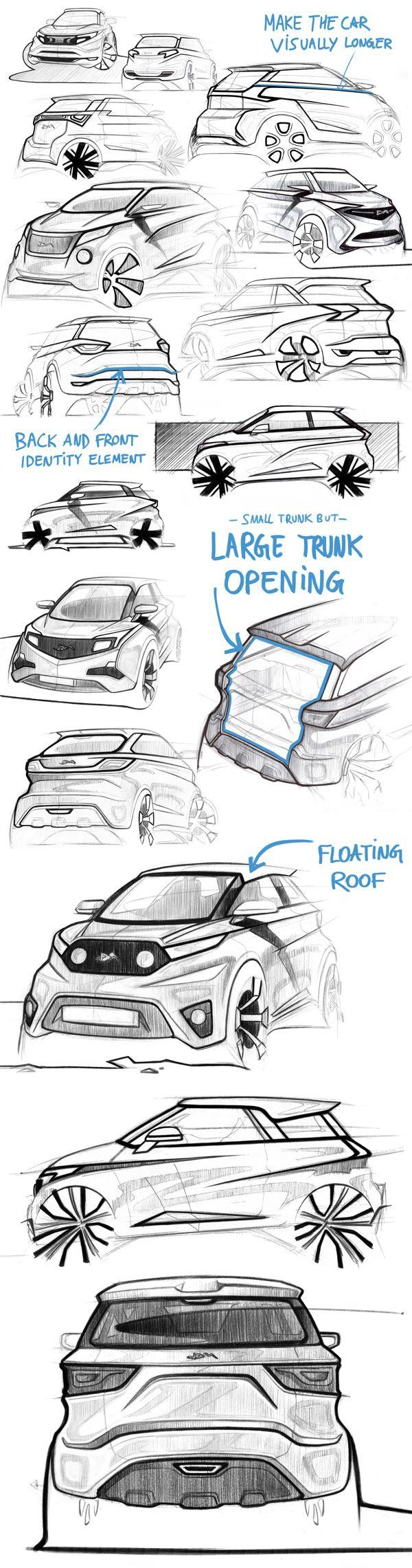 313 best car sketch images on Pinterest   Automotive design, Car ...
