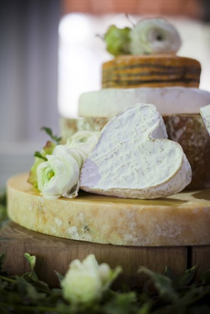 Beautiful cheese wedding cake