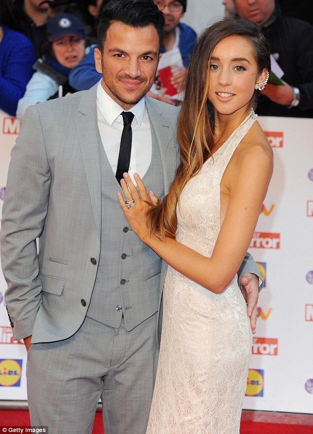 Solid as a rock: Peter Andre, 42, has revealed he and new wife Emily MacDonagh, 25, are taking extra measures to ensure they don't fall victim to the Strictly Come Dancing 'curse'