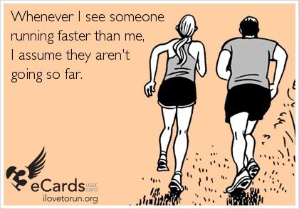 Haha I judge miles on how sweaty they are