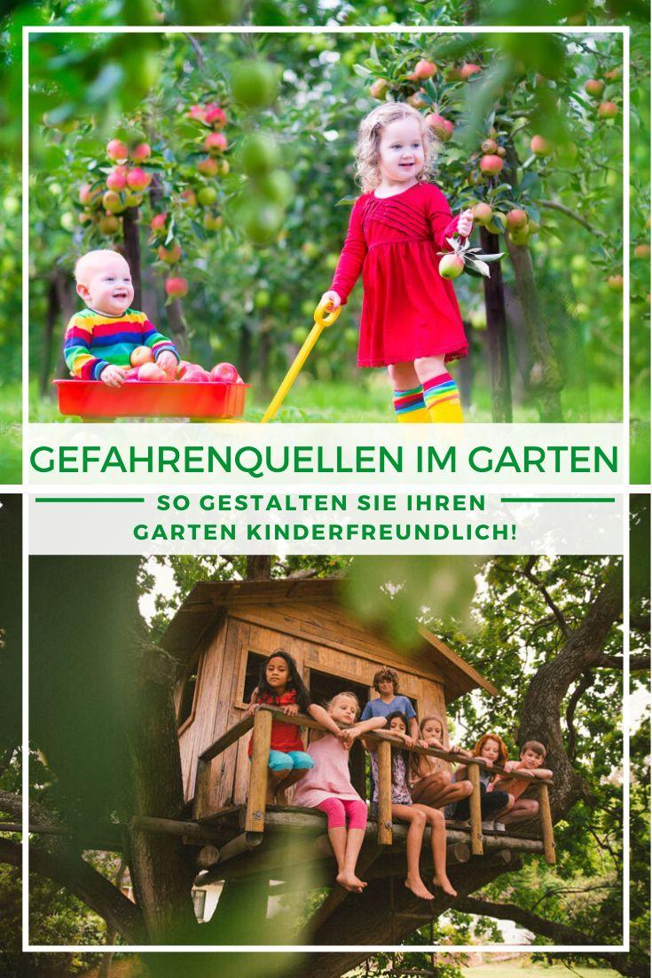 Kindgerechter Garten Sicherheit Beim Spielen Und Toben Kinder Garten Freundlich