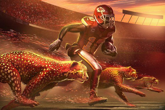 The Cheetah Tyreek Hill, Kansas City Chiefs Kansas