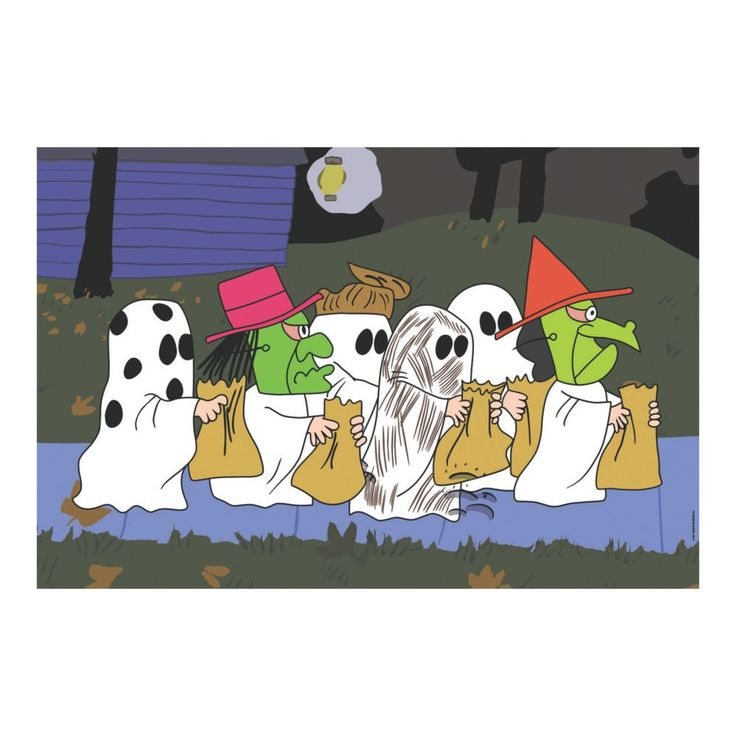 Peanuts® Halloween Backdrop Banner