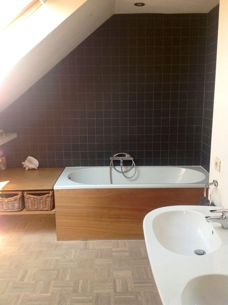 17 beste idee n over zwart wit badkamers op pinterest badkamer victoriaanse badkamer en douches - Wc zwart wit ...