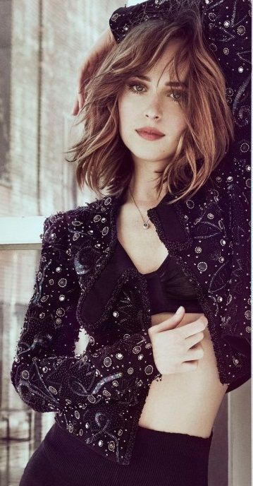 Dakota Johnson on the March 2016 cover of Marie Claire US.