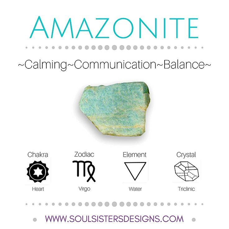 Metaphysical Healing Crystal Properties Of Amazonite Includes
