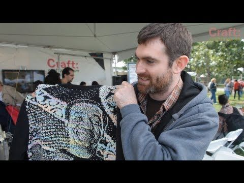 ▶ Machine Knitting a Cosby Sweater - YouTube