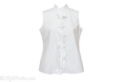Tahari Emma Blouse size L at http://stylemaiden.com