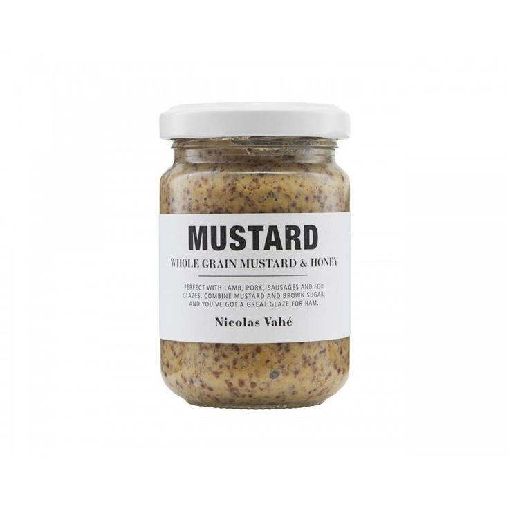 Mustard Old-fashioned, With Honey - 140 g