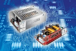 "Compact 150W switched-mode power supply (SMPS) in 4""x2"" package"
