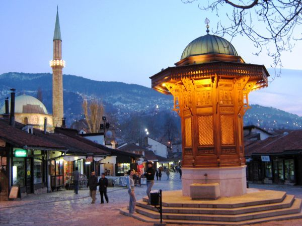 bosnia i hercegowina sarajewo stare miasto