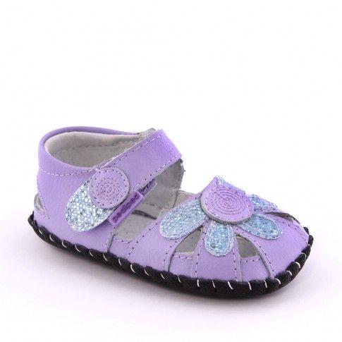Sandale bebelusi Daisy Lavender - pediped