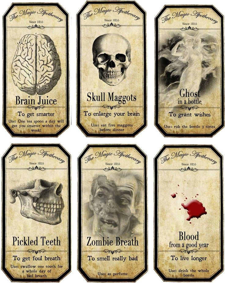 Wild image pertaining to free printable apothecary labels