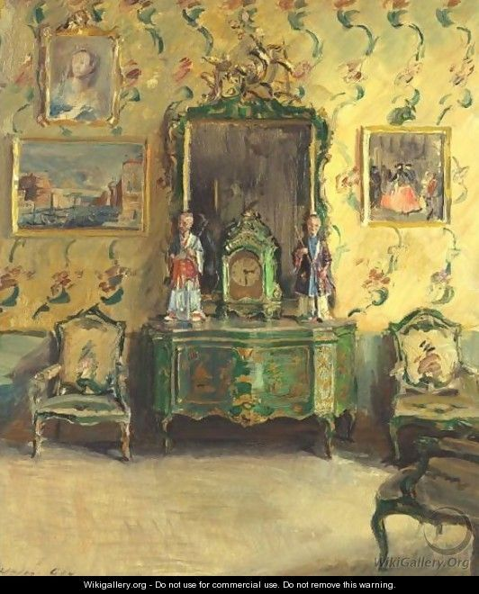 Interior - Walter Gay - The Chinoiserie Room - Correr Museum, VeniceCorrer Museums, Chinoiserie Room, Room Painting, Art Interiors, Gaycorr Museums, Room Correr, Interiors Art, Walter Gay, Gay Correr
