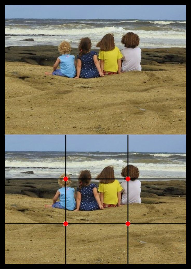 Rule of Thirds Example Photography