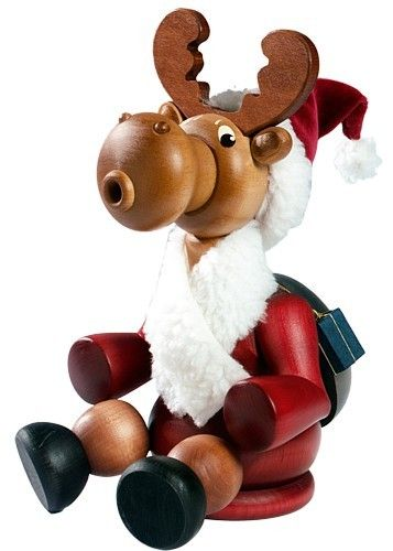 KWO Räucherfigur Weihnachtselch