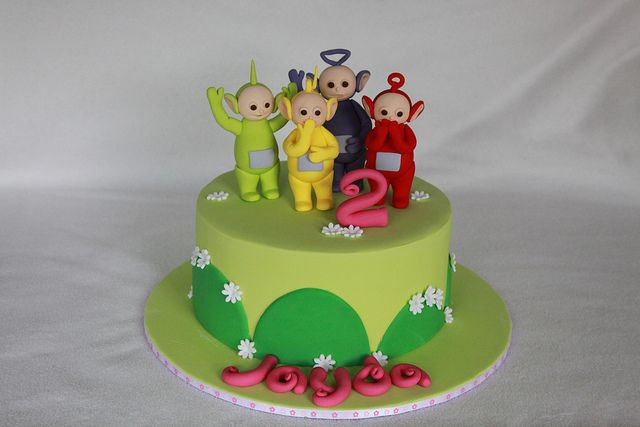 Teletubbies Cake   Flickr - Photo Sharing!