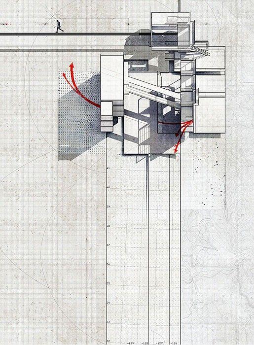 mixed media collage by artist/architect Lekan Jeyifous. Brooklyn, New York,
