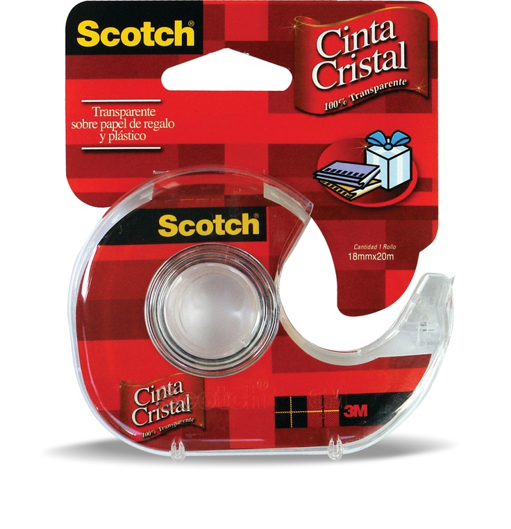 Cinta Cristal con Dispensador #Scotch