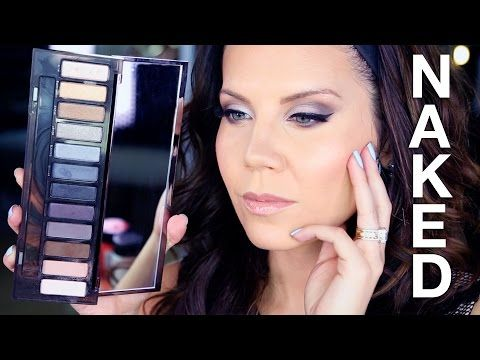NEW Urban Decay NAKED SMOKY PALETTE | Tutorial - YouTube
