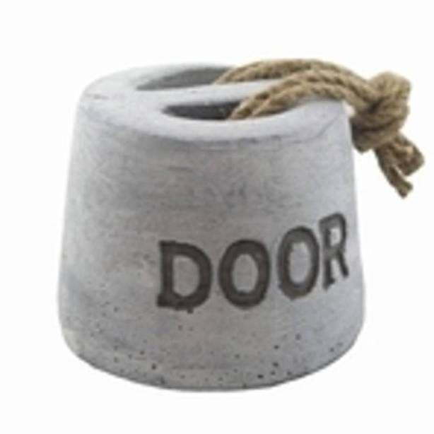 DIY   deurstopper van beton, stoer! Door laurie89