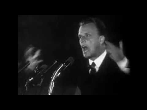 Billy Graham - 1 minute on the state of America. Friends, Please joining me in Praying For America!