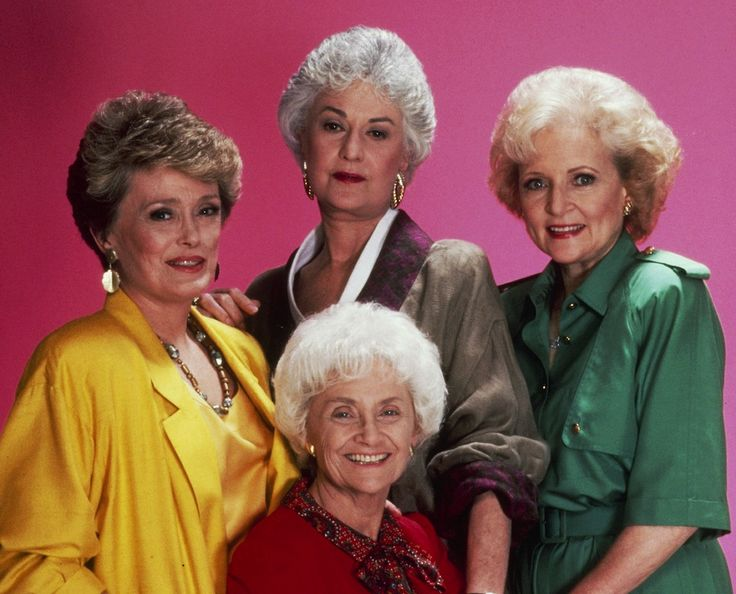 """""""The Golden Girls"""" TV show Loved them all, I can watch this show still in reruns and be entertained and comforted by their friendship, love, loyalty, sarcasm, and silliness !"""