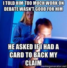 ld debate memes - Google Search