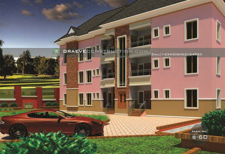 Units of 2 and 3 Bedroom Apartments design in Nigeria ...