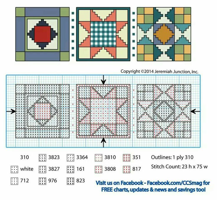 51 best Stitchery-quilt squares images on Pinterest Embroidery, Punto croce and Cross stitch ...